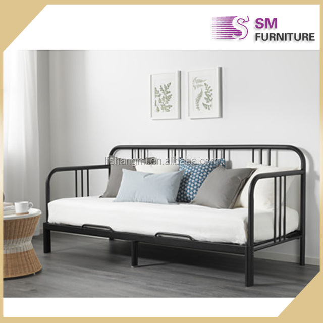 Fashionable Metal Daybed Sofa Bed Guest To