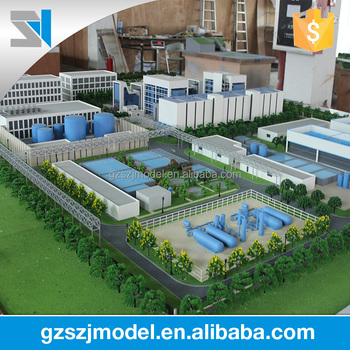3d scale model for industrial park, View 3d model, SZJ Brand Product  Details from Guangzhou Shangzhijing Building Model Co , Ltd  on Alibaba com