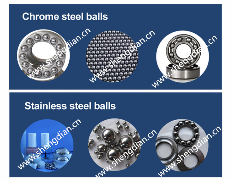 good quality 0.5mm~50.8mm stainless spheres from shengdian