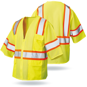 traffic industry OEM brands safety clothing with reflective tape