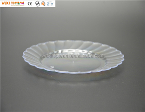 Disposable Plastic Round Plate