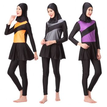 Hot China Products Wholesale Muslim Women Swimwear Islamic Swimsuit