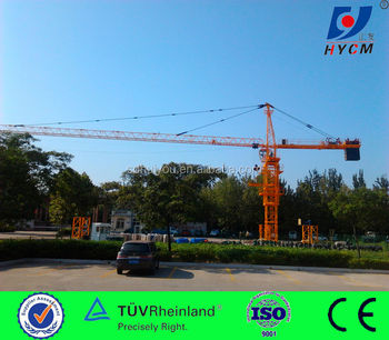 2017 new model 8t QTZ100(6012) TOPKIT TOWER CRANE sell in Dubai and vietnam and Iran and Malaysia