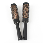 Magic ABS materials rotating hairbrush professional ceramic heat-ressitance hair brush for styling