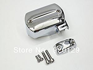 Oligex(TM) Chrome Master Cylinder Cover for Yamaha V-Star XVS 650 950 1100 1300 1998 1999 2000 2001 2002 2003 2004 2005 2006 2007 2008-2013
