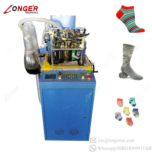 New Design Industrial Textile Automatic Manufacturing Socks Printing Machine Italian Socks Machine