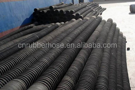 China supplier wear resistant rubber flexible corrugated drain hose water oil suction hose