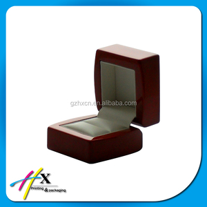 Hot sell gift jewelry box wooden ring display box jewelry wooden box