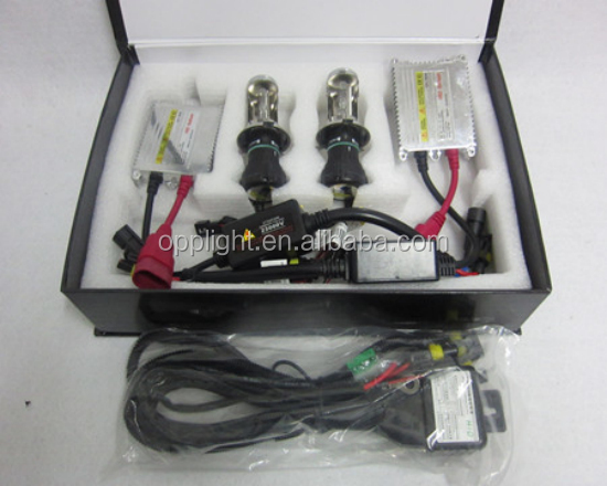 High Lumen!!! 35w/55w/75w/100w 12v/24v Normal/slim ballast,single/hi/low beam bulbs xenon HID moto kit