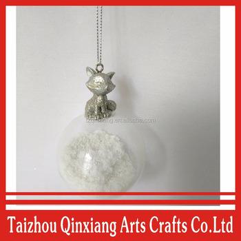 Fashion Clear Plastic Christmas Balls For Ornaments Gift Bulk