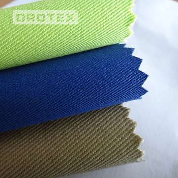 high breathability cotton/polyester flame retardant fabric for petroleum workwear