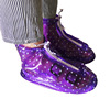 New style portable outdoor travel anti slip waterproof rain boots pvc rain shoe covers
