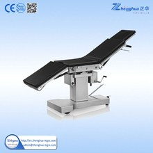 Stainless Steel Functional Manual Operating Surgical Table