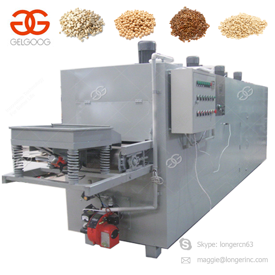 Conveyor Belt Flax Seeds Peanut Cashew Corn Cocoa Cacao Bean Roasting  Machinery Mandelprofi Sesame Rice Commercial Nut Roaster - Buy Commercial  Nut