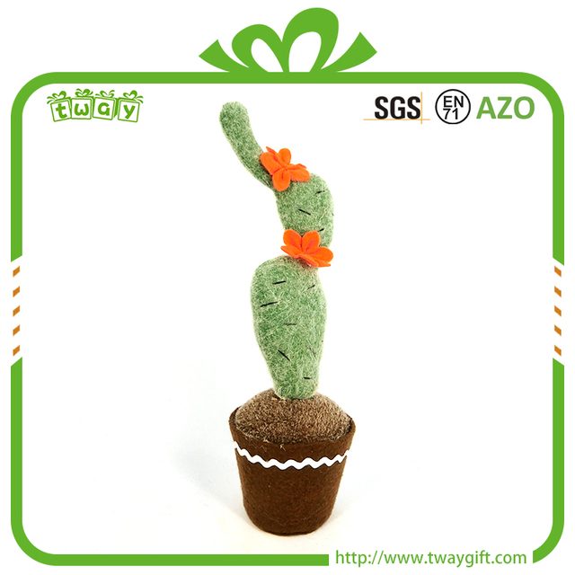 Top grade 10 inch hotel decorative plant gifts bulk artificial craft cactus for decoration