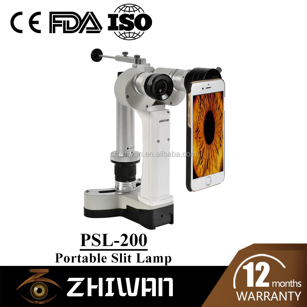 Digital Portable Slit Lamp Psl 200 Handheld Slit Lamp With Camera Ce Approved Buy Slit Lamp