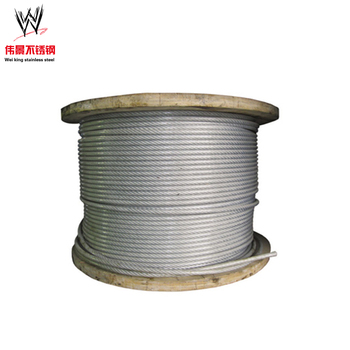 Building Corrosion Resistance Thin 4mm Stainless Steel Wire Rope ...