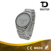Big bezel mens alloy strap Day/Date watch