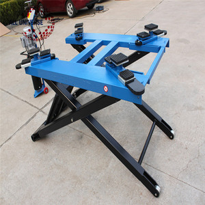 Portable hydraulic scissor car lift / Moveable small scissor car lifter