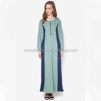 2017 New Model Muslim Long Dress Jubah Muslimah Wholesale Jubah ...