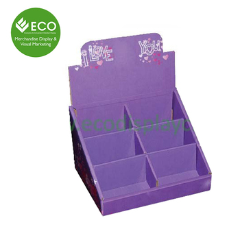 6 cells paper counter display box for cardscardboard display stands 6 cells paper counter display box for cards cardboard display stands for greeting cards m4hsunfo