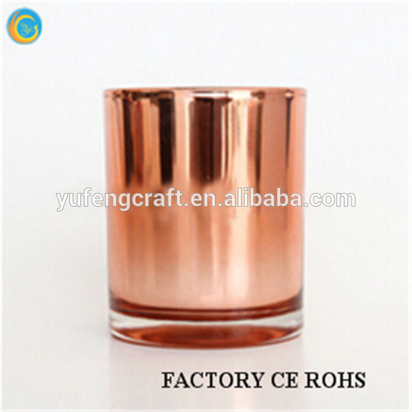 2015 Best Selling Copper Candle Jar/Copper Candle containers/christmas candle jars 100% payment protection for your covered