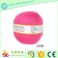 china popular selling thick wool yarn for cap by hand knitted