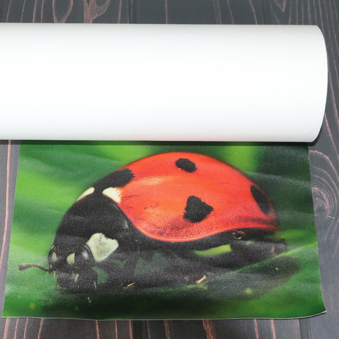 geniş format su geçirmez 220mic yumuşak dijital baskı aydınlatmalı esnek polyester kumaş ışık kutusu