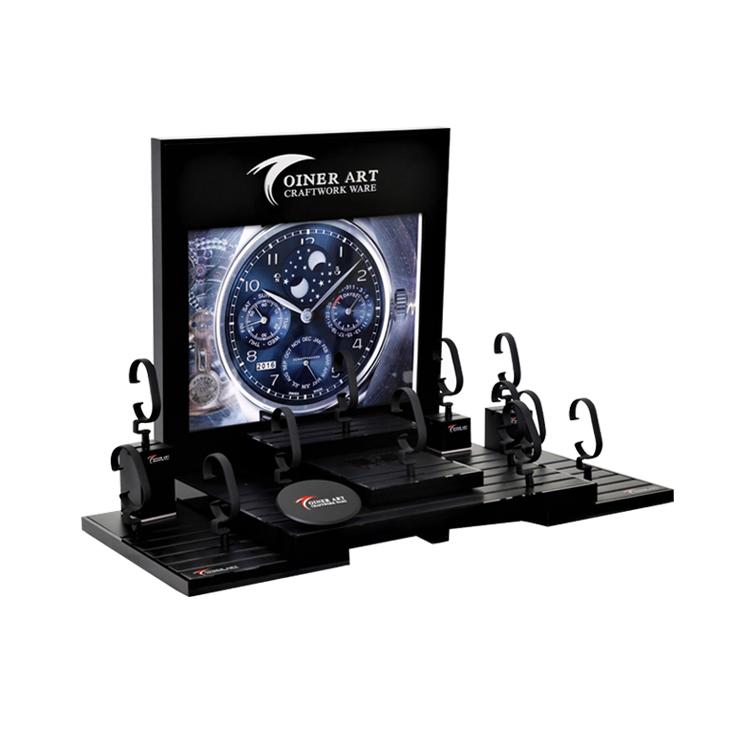 Custom new fashion acrylic watch strap display stand