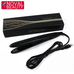 2018 Women Top 10 Custom Fast Flat Irons Ceramic Hair Straightener with Private Label for Salon Hair Beauty Styling