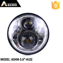 Custom USA CR chips motorcycle 5.75 LED headlight with high low beam 40W hot selling in 2017