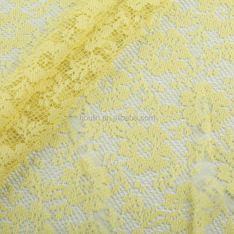 hot selling china manufacturer chiffon lemon german lace fabric for maxi dress