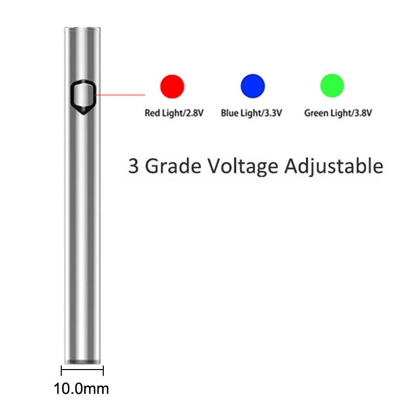 2018 new products 510 vape pen vaporizer preheating battery vape for cartridge