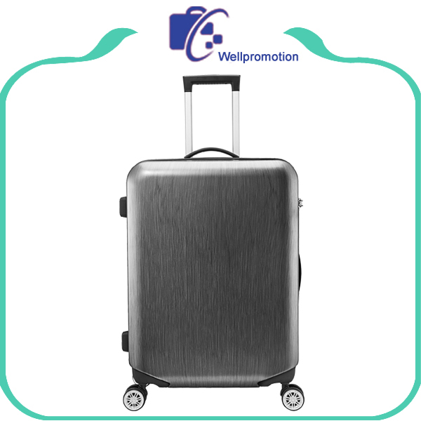 Wholesale cabin abs+pc travelling luggage/printing draw lining luggage