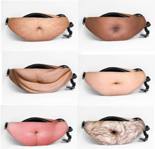 Hot Sale Fanny pack Waist Bum bag Dad Bag Pack Novelty Funny Hairy Beer Belly Waist pack DadBag bod