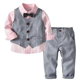 ff8aa610e New Design Boys Clothing Set Kids Winter 3 Pieces Sets Baby Clothes ...