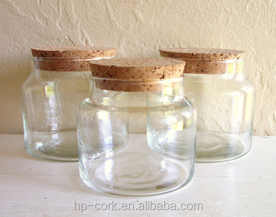 Glass Jar With Cork Lid Buy Cork Lidglass Candle Jars And Lids