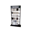 Top quality modern ceramic tile/artificial granite/marble metal brand display racks