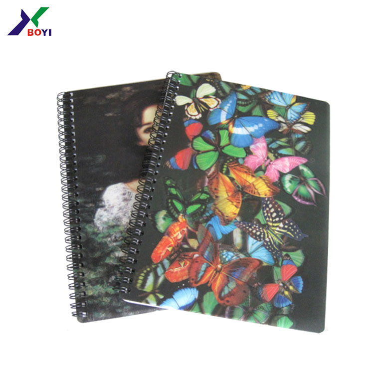 butterflies Printed Hard Cover Notebooks By Matador Books