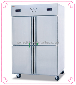 Restaurant Kitchen Refrigerator 4-door commercial kitchen refrigerator freezer/ industrial upright