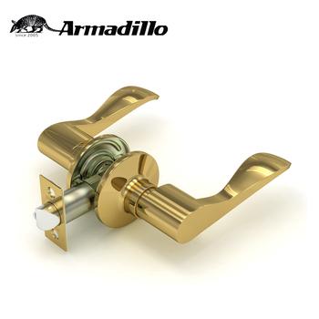 High Quality Gold Zinc Alloy Knob Locks Keyless Tubular