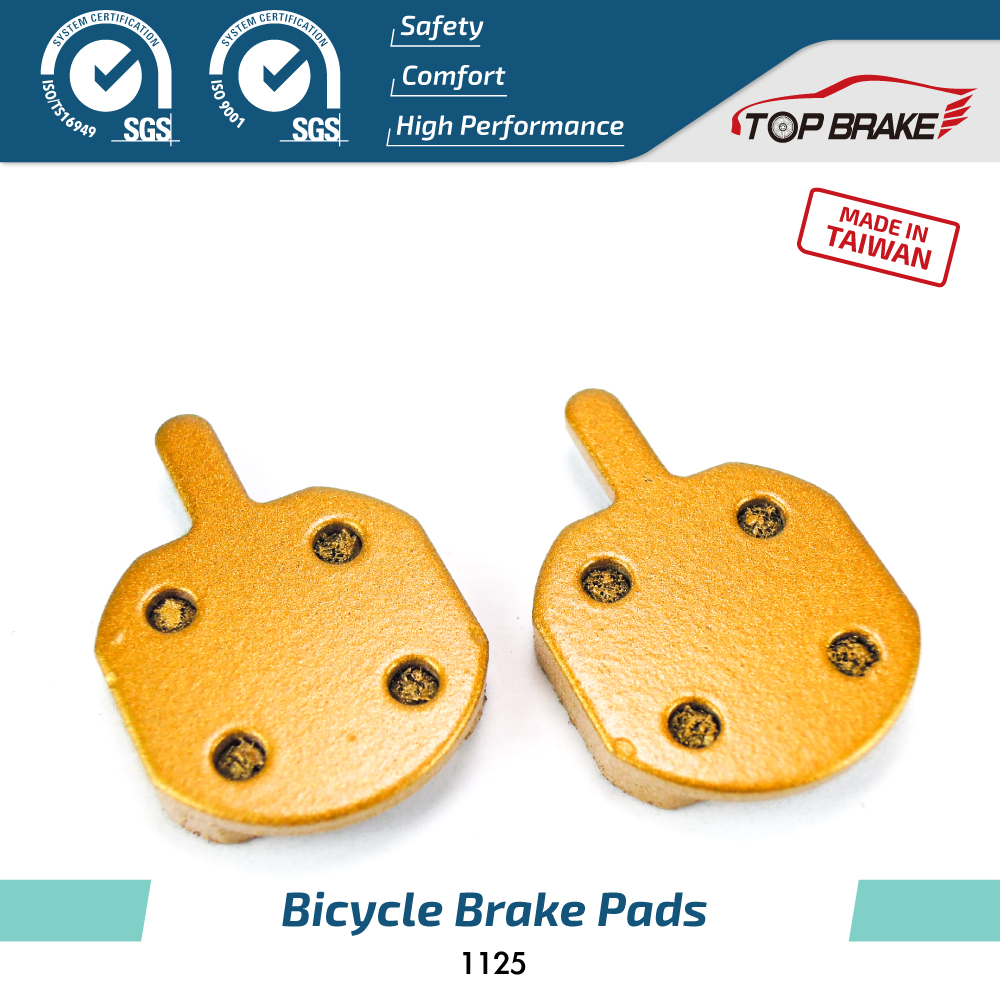 Good Quality Bicycle Parts Gold Color V Brake Pads Brake For Hayes