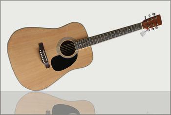 41 Natural Color Acoustic Guitar Buy 41 Natural Color Acoustic