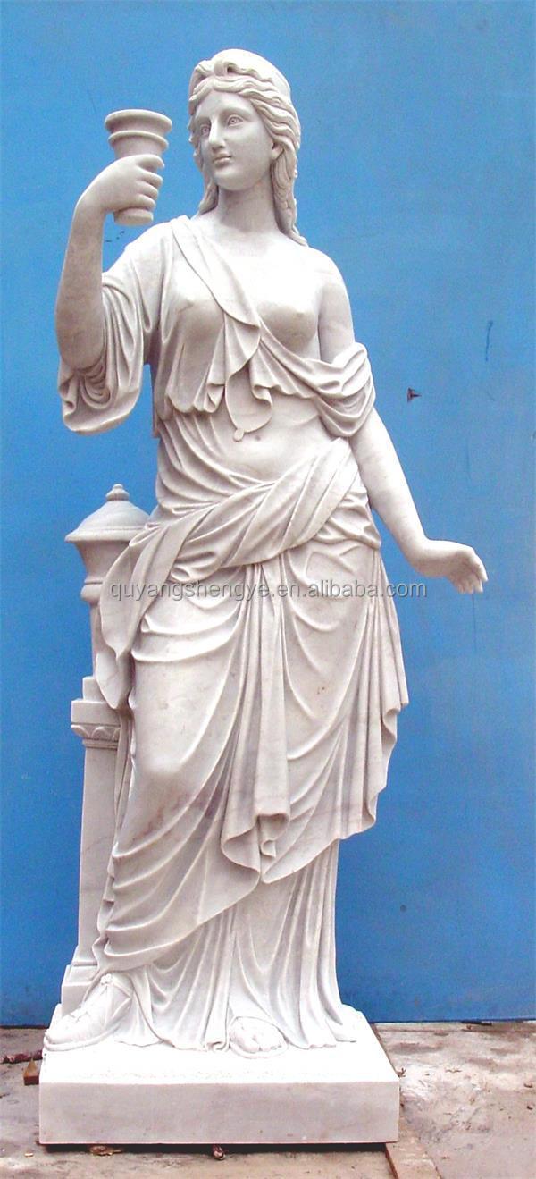 Female Nude Reclining Statue Figurine Bronze