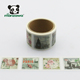 Big Ban London Bridge Scenery Design Reusable Removable Custom Japanese Washi Tape Sticker Paper Roll