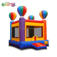 QiLing customized colorful bouncer inflatable bounce house , jumping balloon for sale