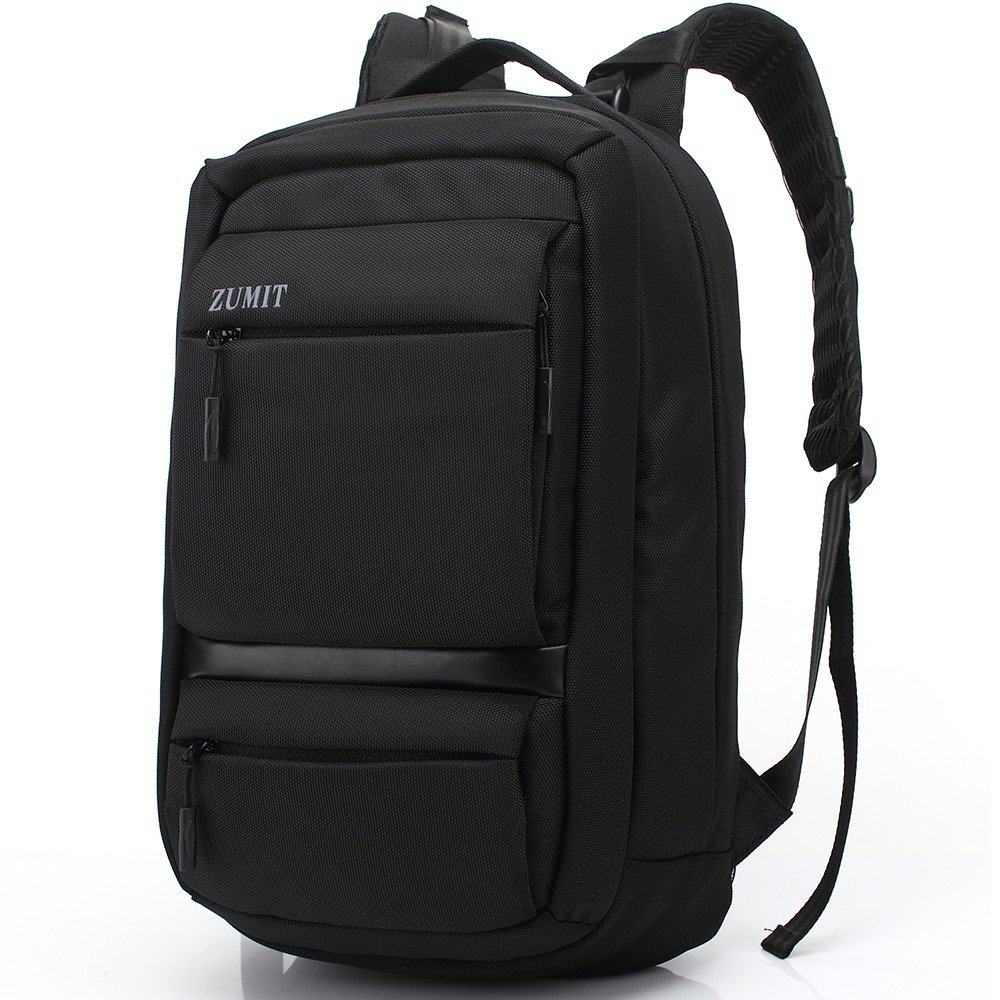 7993e200ee ZUMIT Professional Slim Business Laptop Backpack for Men and Women Casual  Travel School Bag Rucksack Daypack