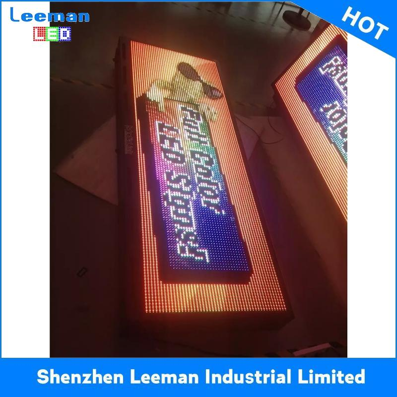 video module cabinet led display front service led sign