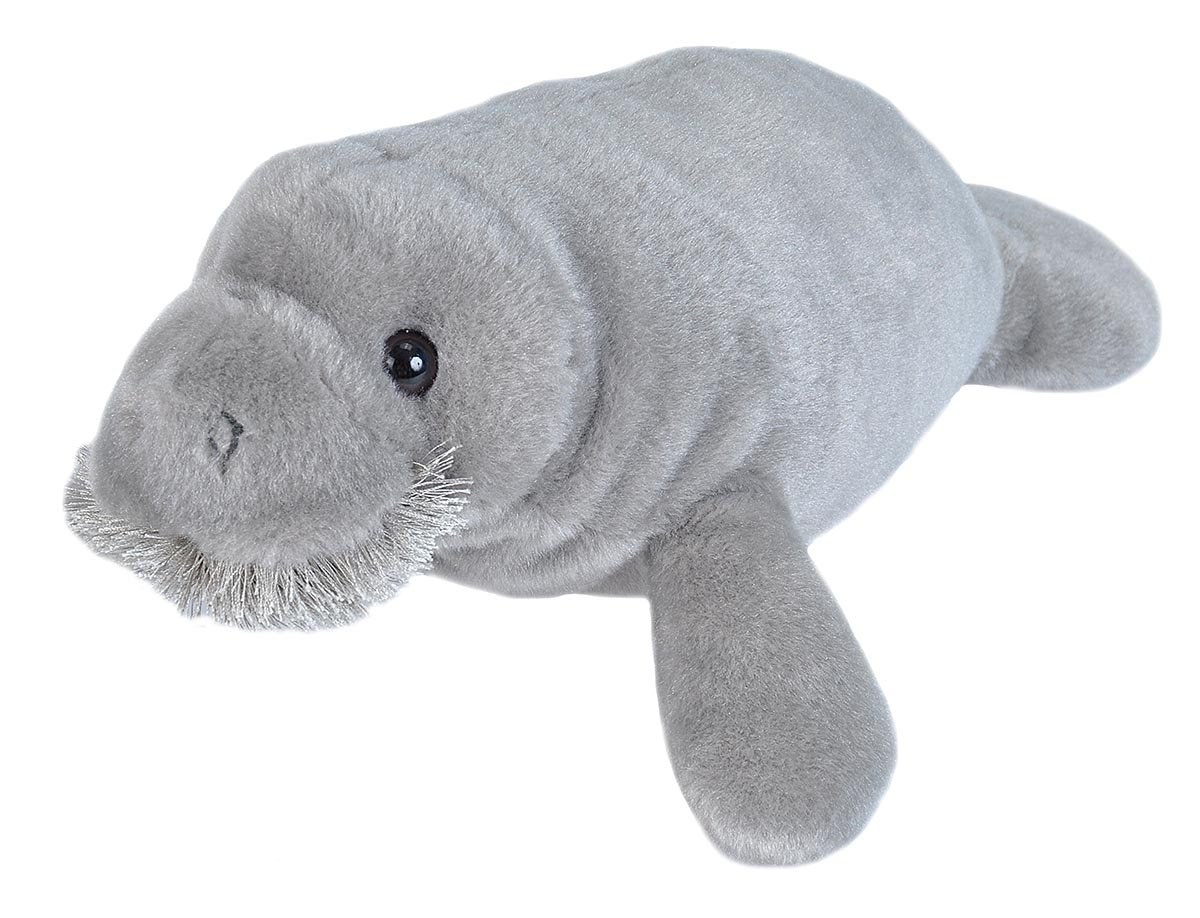 Wild Republic Manatee Stuffed Animal, Plush Toy Gifts for Kids, Cuddlekins 15 Inches