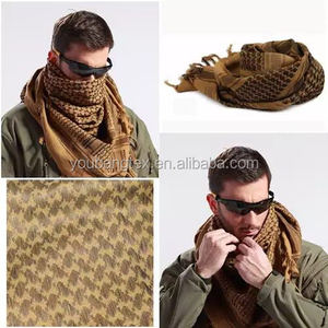 100% cotton shemagh 110*110cm/ shemagh scarf/ tactical shemagh/tactical scarf